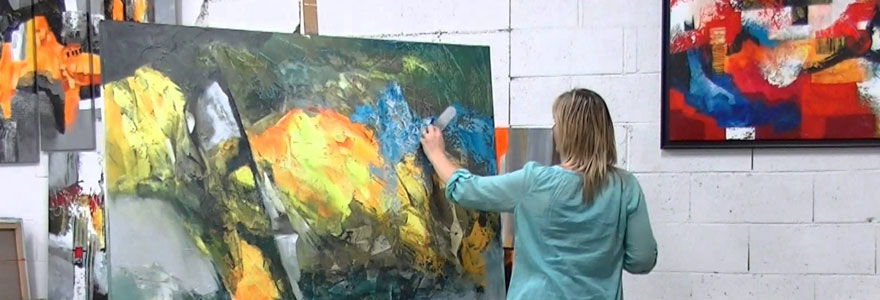 les peintres abstraits